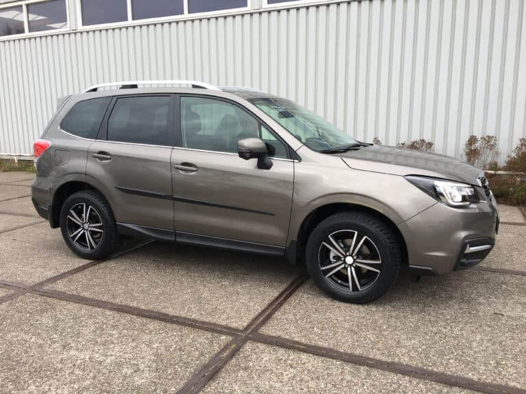 subaru forester winterband