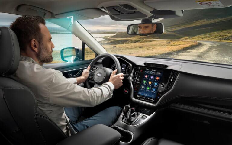 de nieuwe subaru outback 2021 met driver monitoring