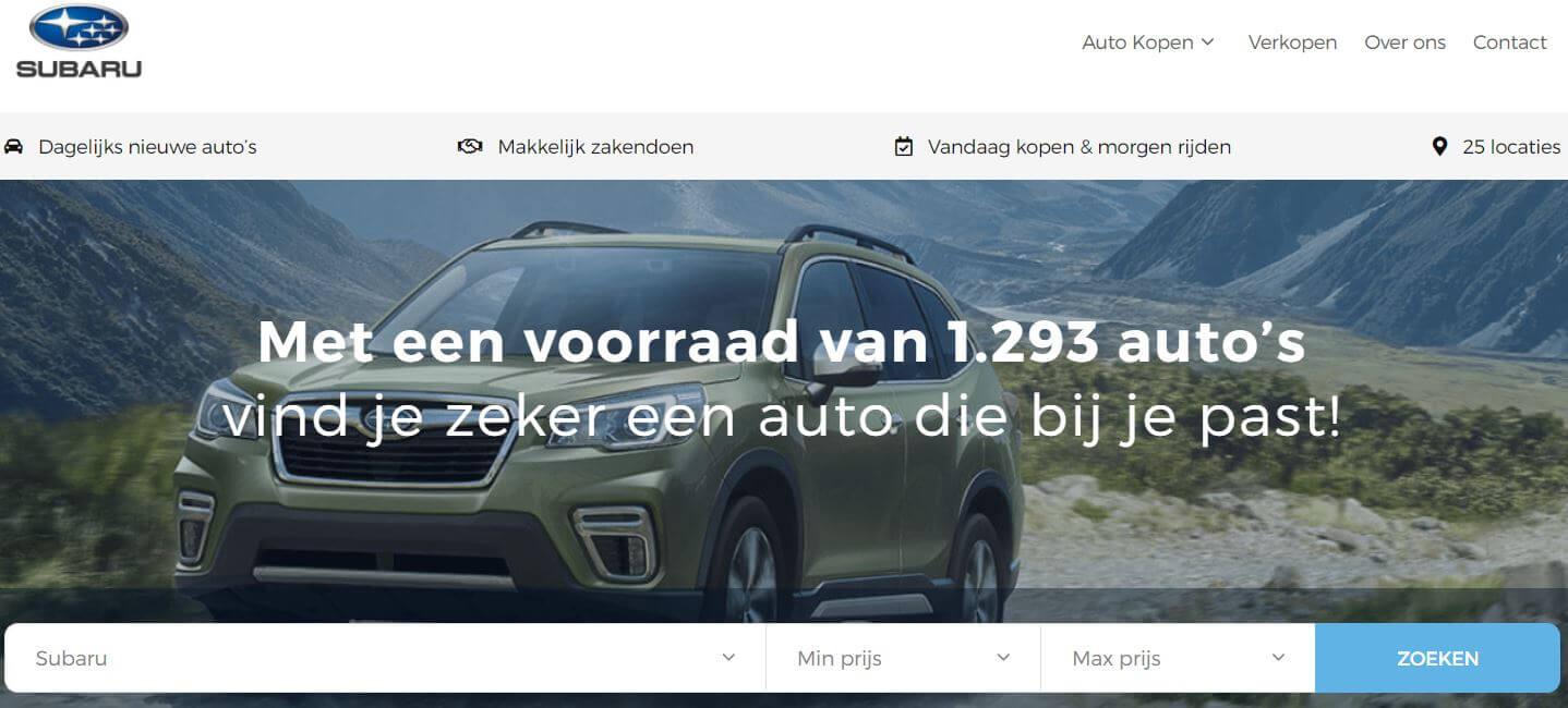 Subaru Store Niestcar Heemskerk